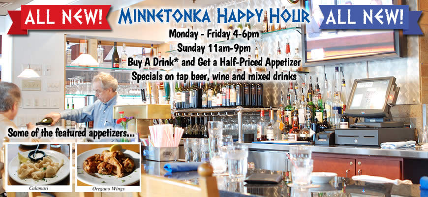 Minnetonka Hy Hour Monday Friday 4 6 Pm Sunday 11am 9pm A Drink And Get Half Priced Etizer Soft Drinks Do Not Ly 50 Salmon Creek