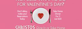PRE-ORDER VALENTINES DAY TAKE-OUT