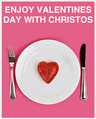 Valentines Day at Christos 2018