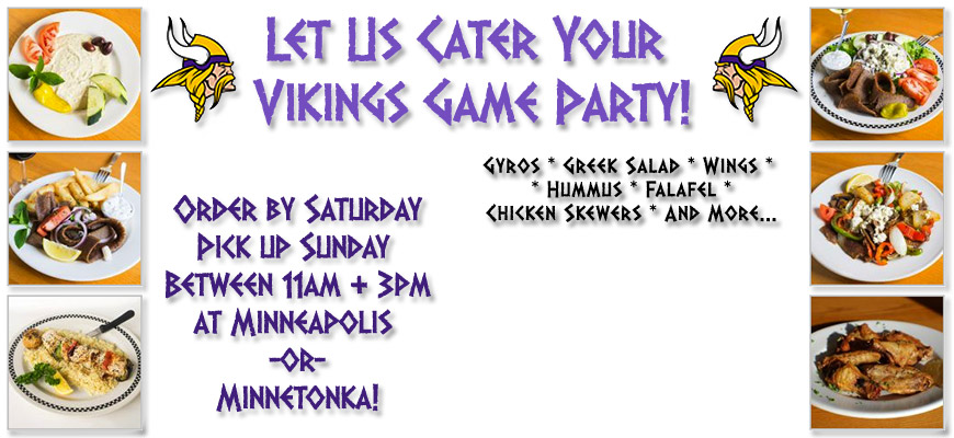 Let Christos Cater Your Viking Game Party