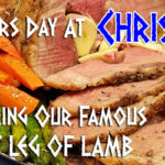 Christos Leg of Lamb for Mothers Day