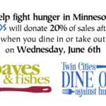 Dine Out Against Hunger Twin Cities 2018