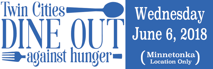 Twin Cities Dine Out Against Hunger 2018