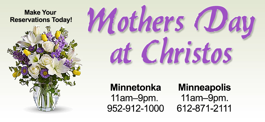 Mothers Day At Christos.