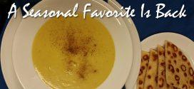 Acorn Squash w/apple Soup at Christos