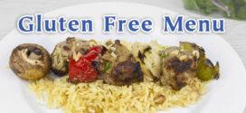 Christos Gluten Free Menu