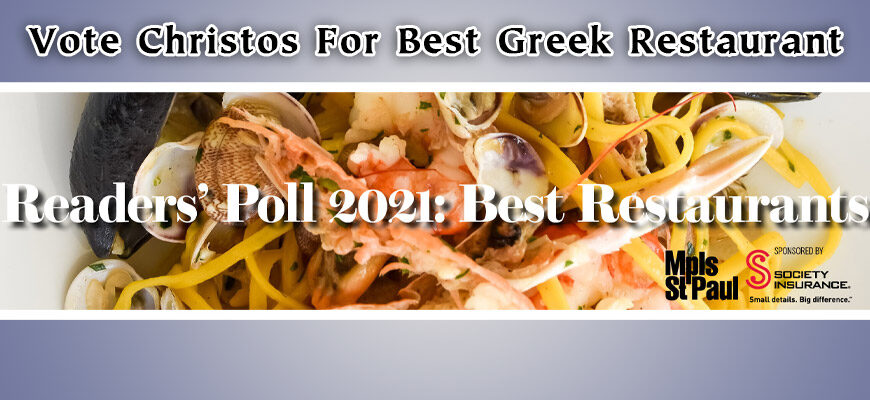 Vote For Christos Greek Restaurants